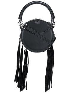 мини-сумка через плечо Lea с бахромой Salar