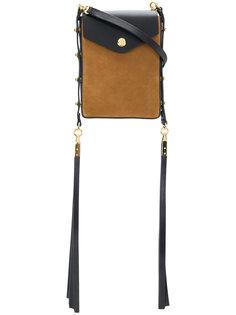 сумка через плечо с кисточками Isabel Marant