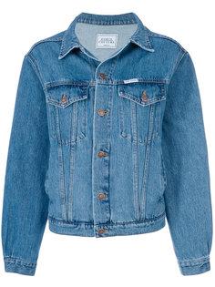 джинсовая куртка с тигром  Forte Couture