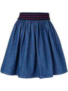 джинсовая юбка Miu Miu