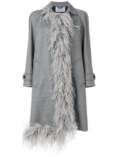 пальто Grisaille Prada