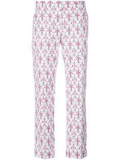 укороченные брюки Alabastro Prada