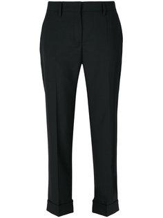 укороченные классические брюки Prada