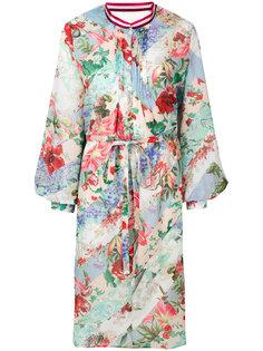 платье-рубашка с цветочным принтом  Circus Hotel