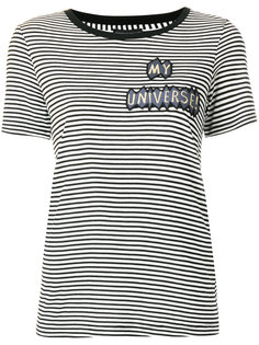 футболка в полоску My Universe Emporio Armani