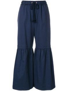 широкие укороченные брюки See By Chloé