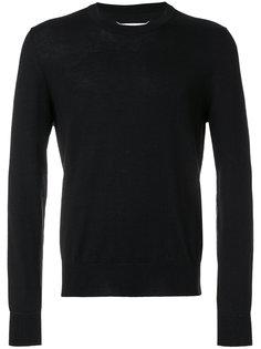 свитер с нашивками на локтях Maison Margiela