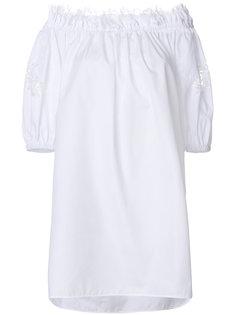 платье с открытыми плечами Ermanno Scervino