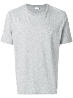 классическая приталенная футболка Saint Laurent