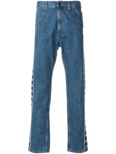 джинсы с полосками по бокам Paura