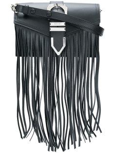 сумка на плечо с бахромой Versus
