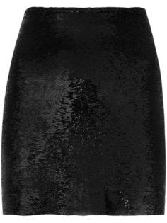 юбка мини с пайетками Iro