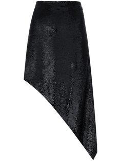 асимметричная юбка с пайетками Iro