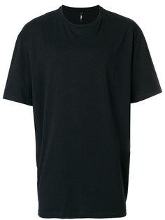 футболка с молнией на боку Versus