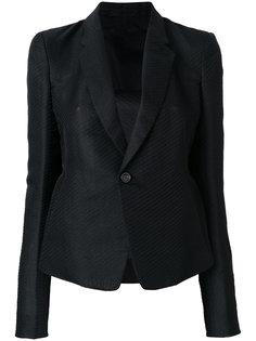 полосатый приталенный пиджак  Rick Owens