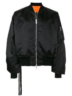 куртка-бомбер на молнии Unravel Project