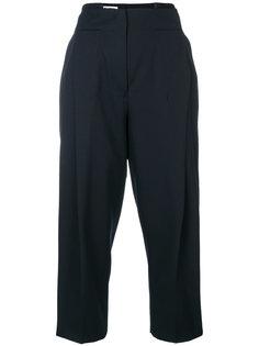 зауженные брюки с завышенной талией  Jil Sander