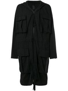 удлиненное пальто мешковатого кроя Thom Krom