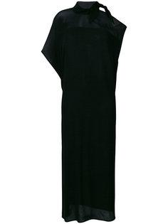 платье с асимметричными рукавами Mm6 Maison Margiela