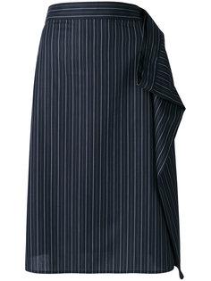 юбка с драпировкой Mm6 Maison Margiela