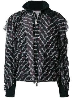 куртка с графическим принтом  Sacai