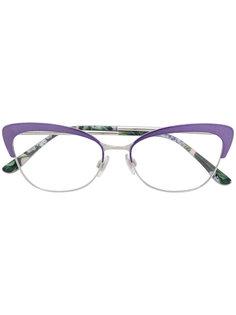 """очки в оправе """"кошачий глаз"""" Dolce & Gabbana Eyewear"""