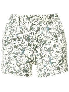 шорты с принтом Uruguay  Isabel Marant Étoile