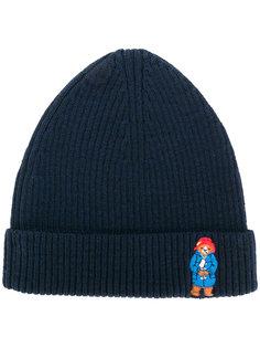 шапка-бини Paddington в рубчик Maison Labiche
