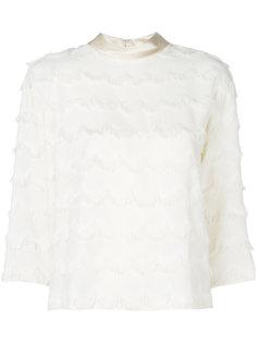 блузка с бахромой  Marc Jacobs
