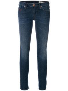джинсы скинни с заниженной талией Diesel
