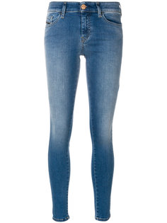 джинсы скинни средней посадки Diesel