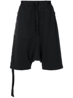 шорты с заниженной проймой Unravel Project