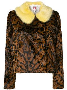 куртка с леопардовым принтом Betsy Shrimps