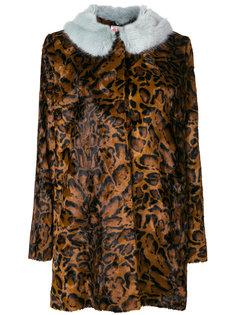 куртка с леопардовым принтом  Shrimps