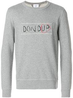 толстовка с логотипом Dondup