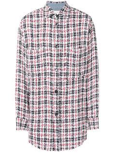 удлиненная рубашка в клетку Faith Connexion
