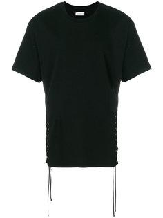 футболка со шнуровкой по бокам Faith Connexion