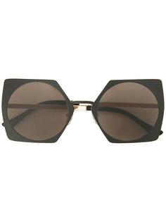 солнцезащитные очки в квадратной оправе Marni Eyewear