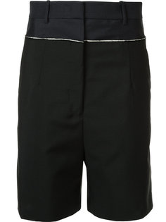 шорты с контрастной окантовкой Jil Sander