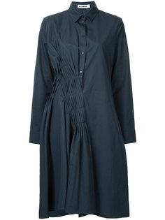 платье-рубашка со складками Jil Sander