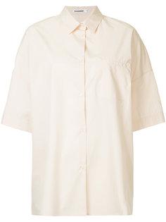 поплиновая рубашка Jil Sander