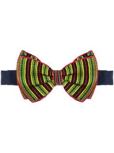 галстук-бабочка в полоску  Jupe By Jackie