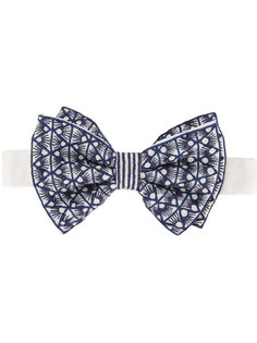 embroidered bow tie Jupe By Jackie