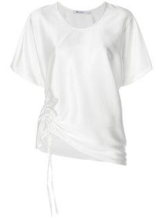 футболка с завязкой  T By Alexander Wang