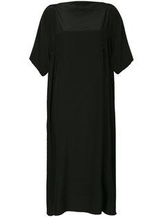 платье с драпировкой  Nehera