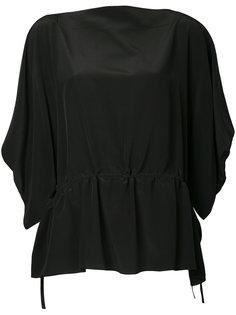 блузка с драпировкой  Nehera