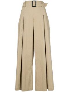 укороченные широкие брюки  Etro