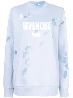 толстовка с логотипом  Givenchy