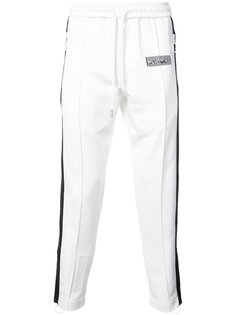 двухцветные спортивные брюки  Off-White