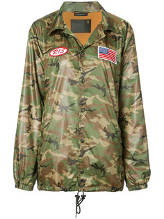 камуфляжная куртка в стиле оверсайз R13